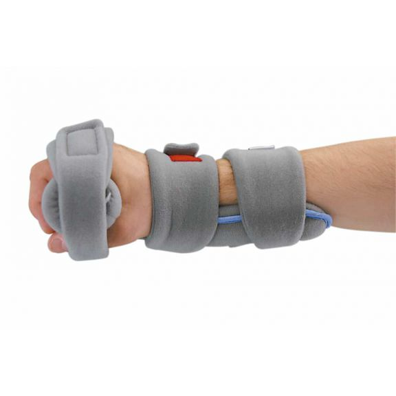 Positional hand orthosis for static positioning of hands with contractures